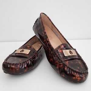 Vionic Sydney Tortoise Patent Leather Loafer